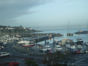 Backpacking in Northern Ireland: the town of Bangor, County Down.